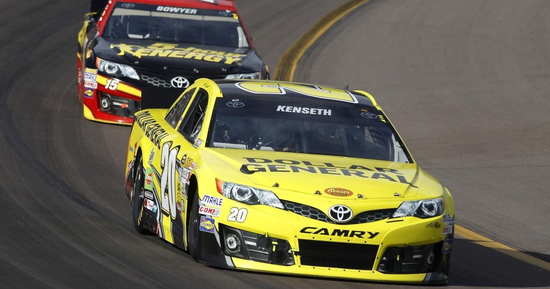 Matt Kenseth y Clint Bowyer, NASCAR 2014