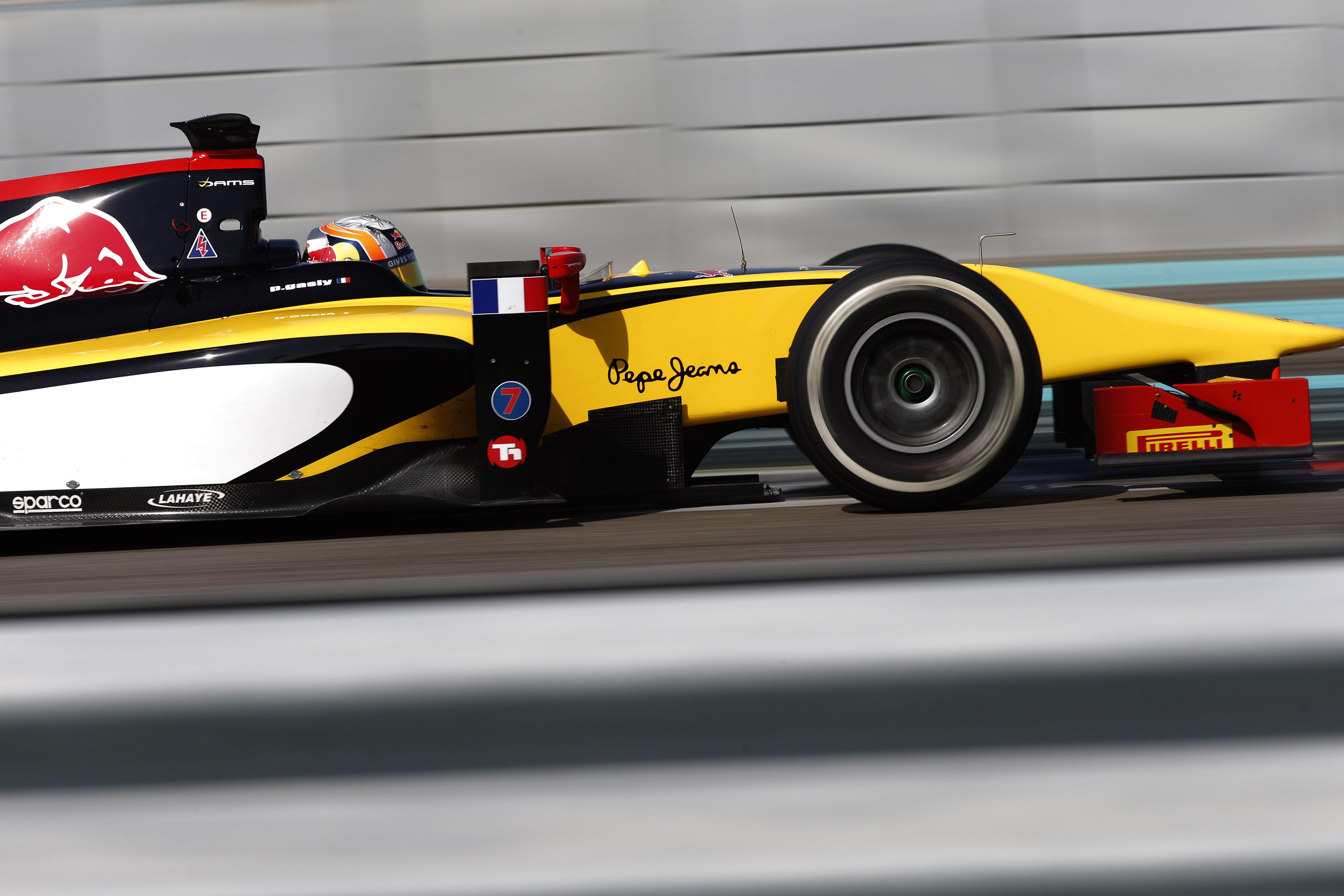 Pierre Gasly - Test Abu Dabi 2014 GP2