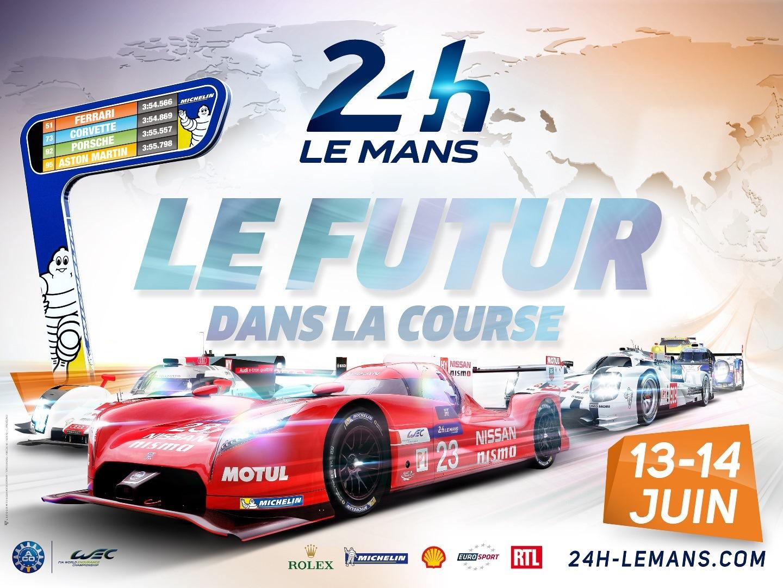 Poster 24 Horas de Le Mans 2015