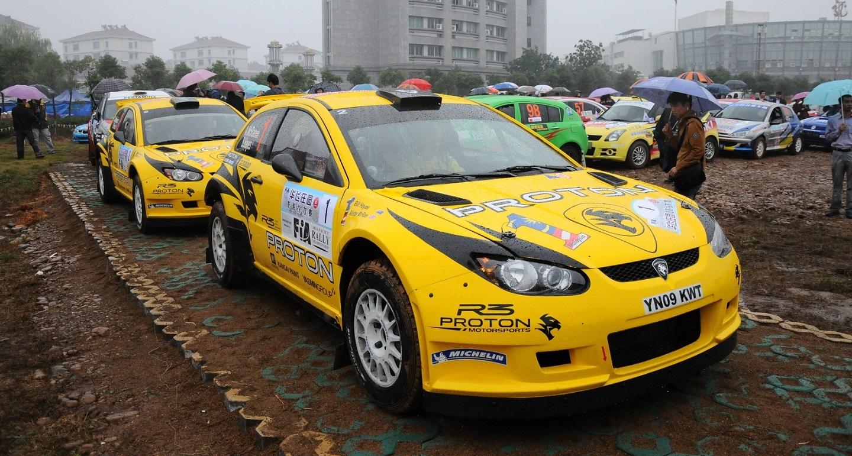proton motorsport china rally