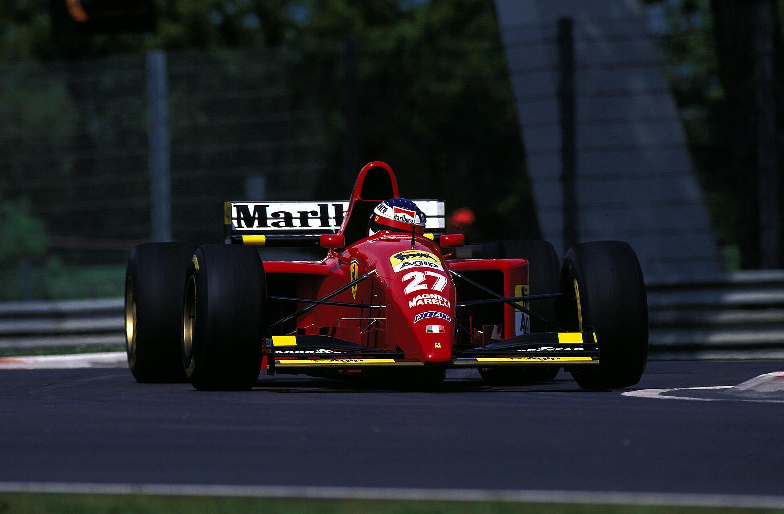 Ferrari 412 T2 Jean Alesi 1995
