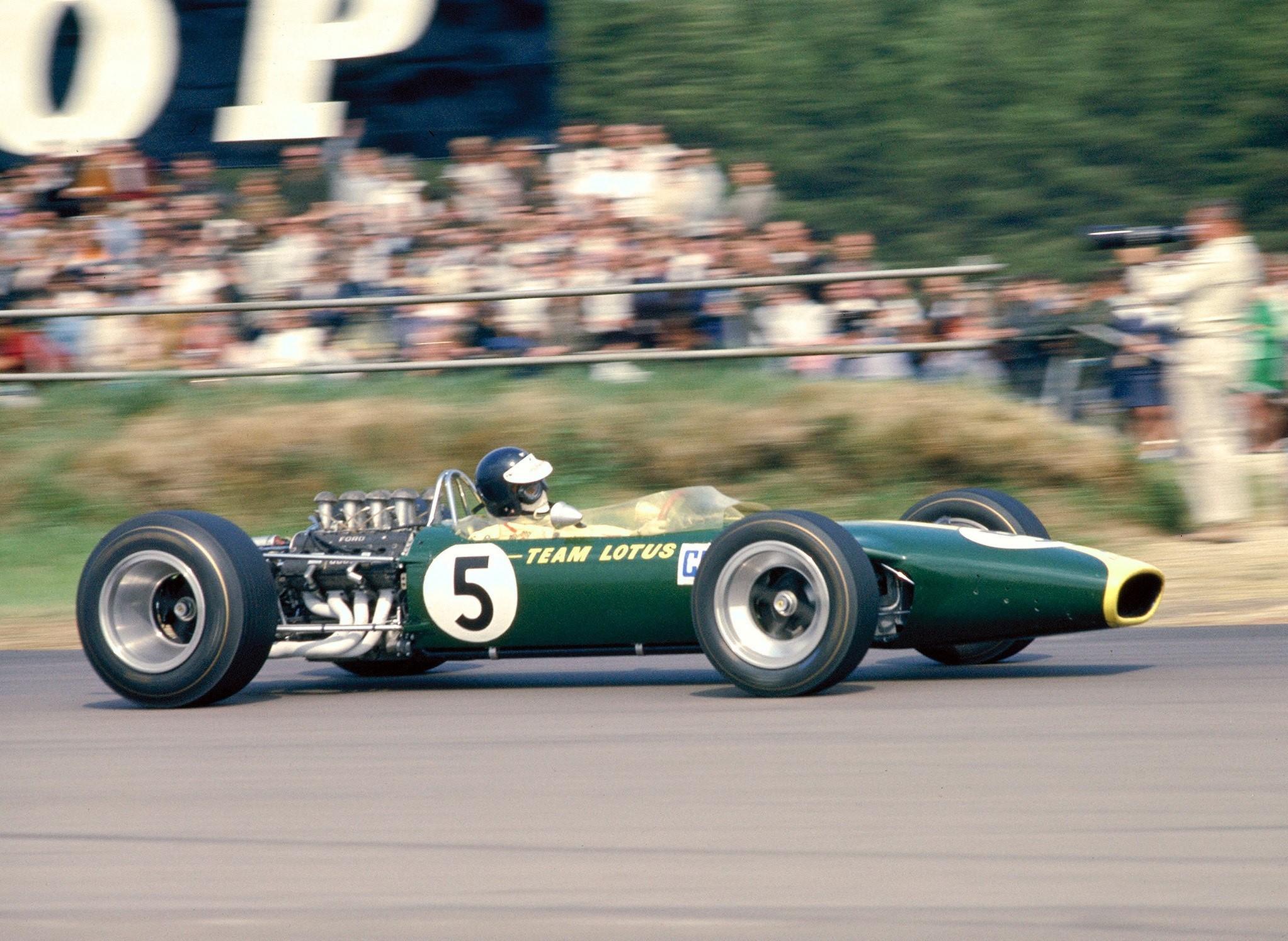 Lotus 49 Jim Clark GP Gran Bretaña 1967