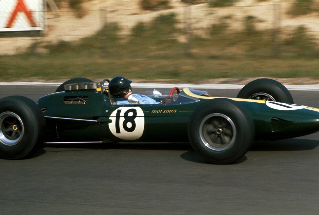Lotus 25 Jim Clark GP Francia 1963