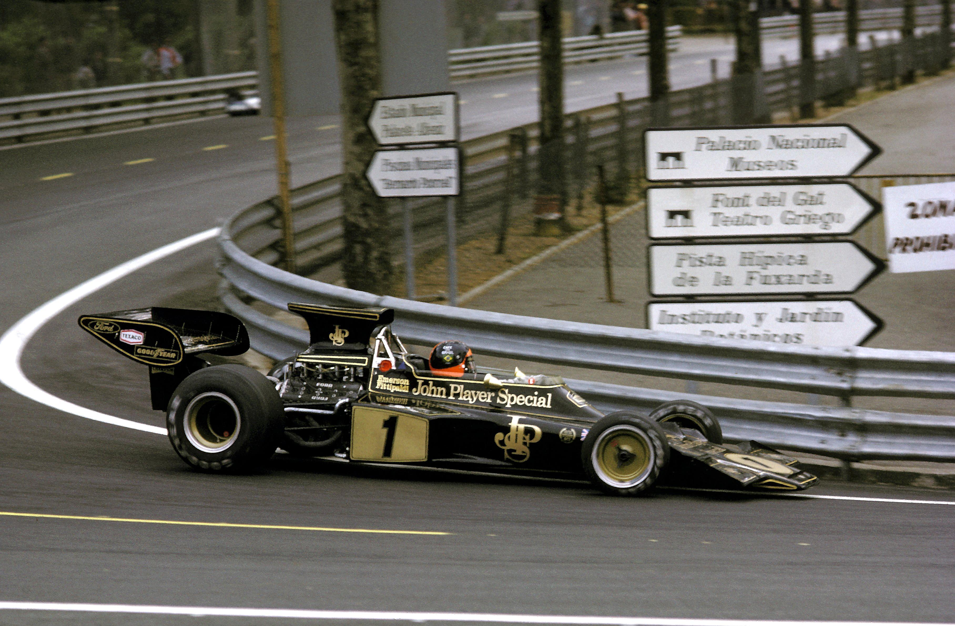 Lotus 72E - Emerson Fittipaldi, Gran Premio de España 1973, Montjuïc