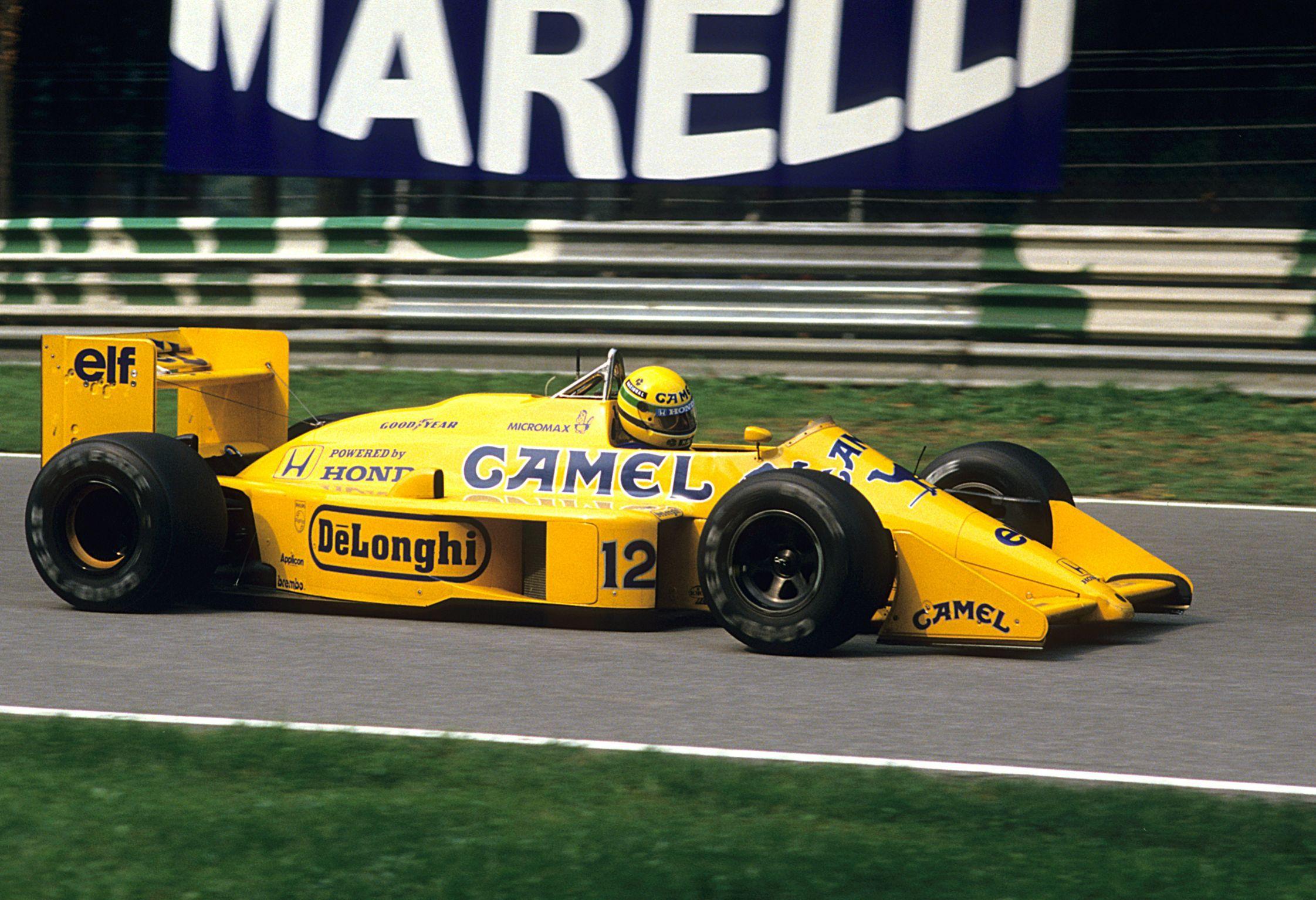 Lotus 99 T Ayrton Senna Monza 1987