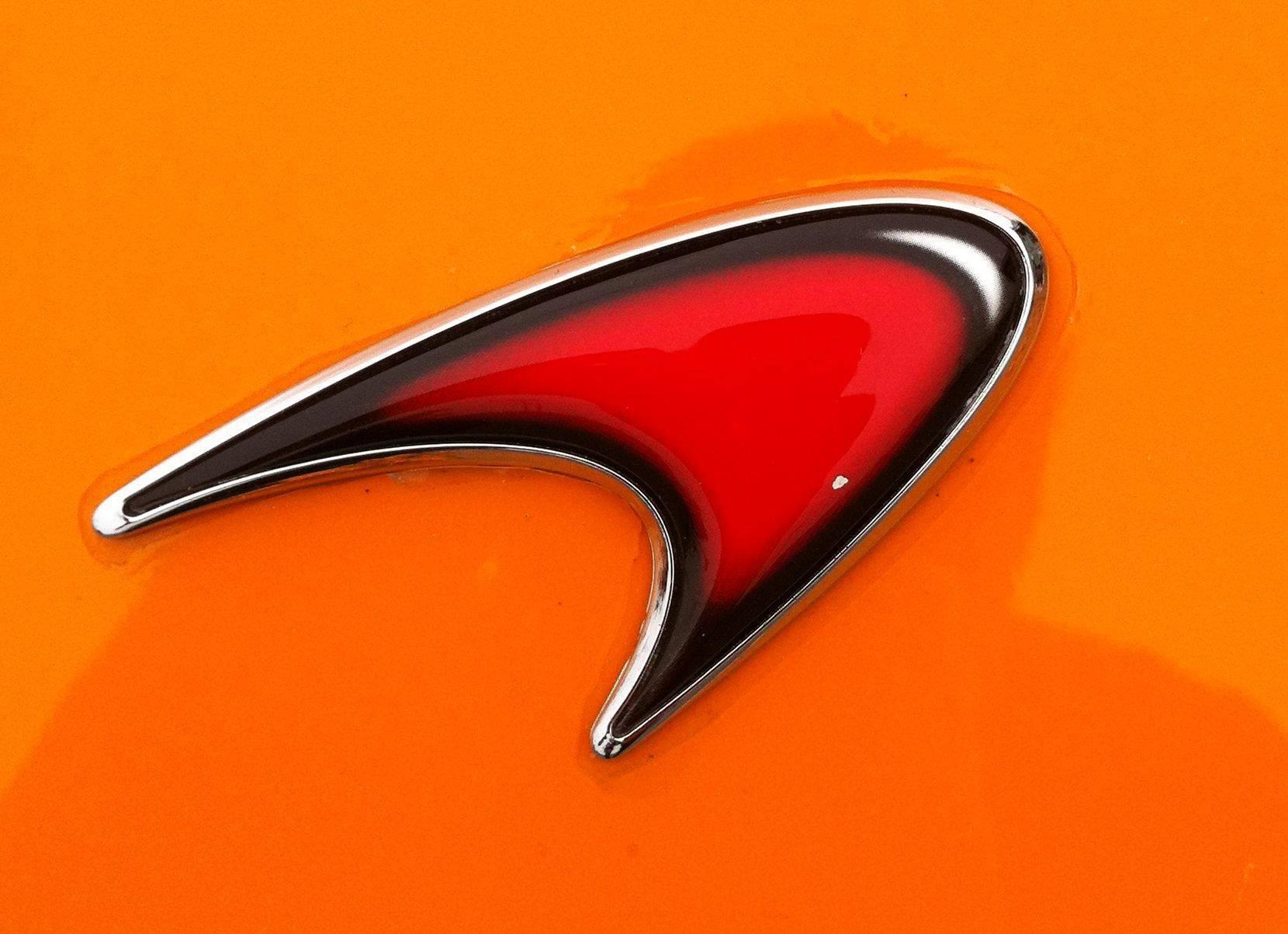 McLaren Logo Naranja