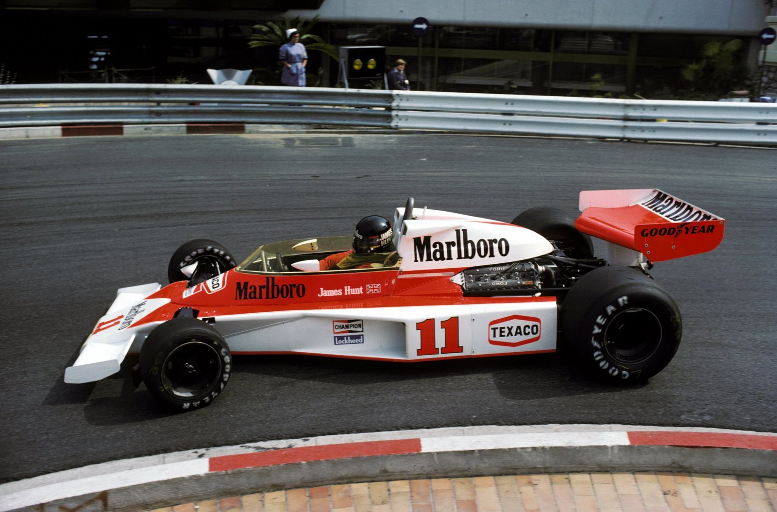 McLaren M23 James Hunt GP Mónaco 1976