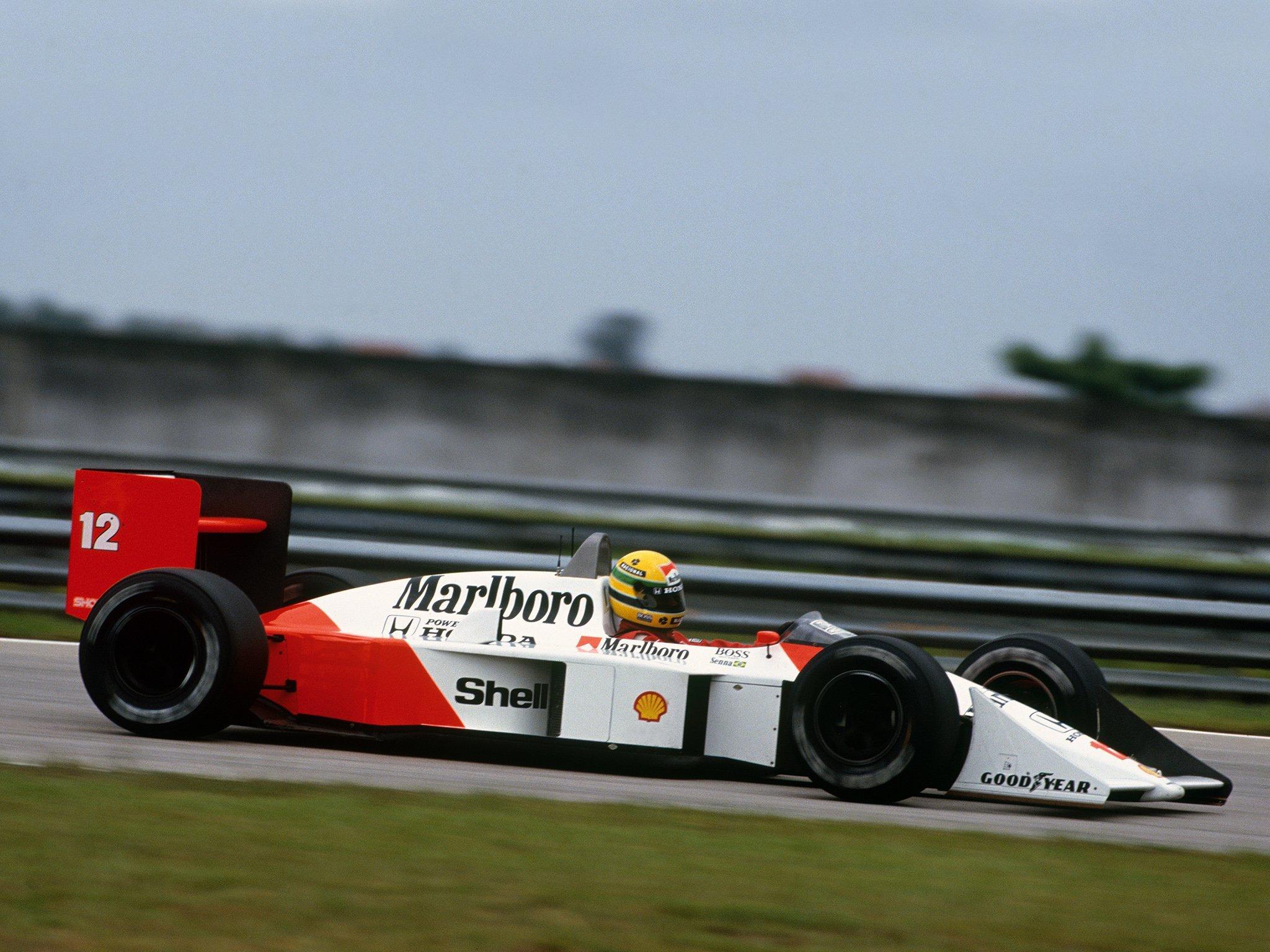 McLaren MP4-4 Ayrton Senna 1988