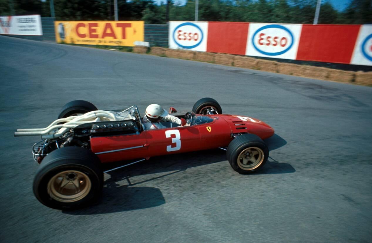 Mike Parkes, GP Bélgica 1967