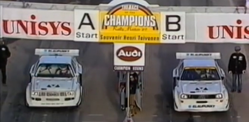 rally masters 1989 race of champions
