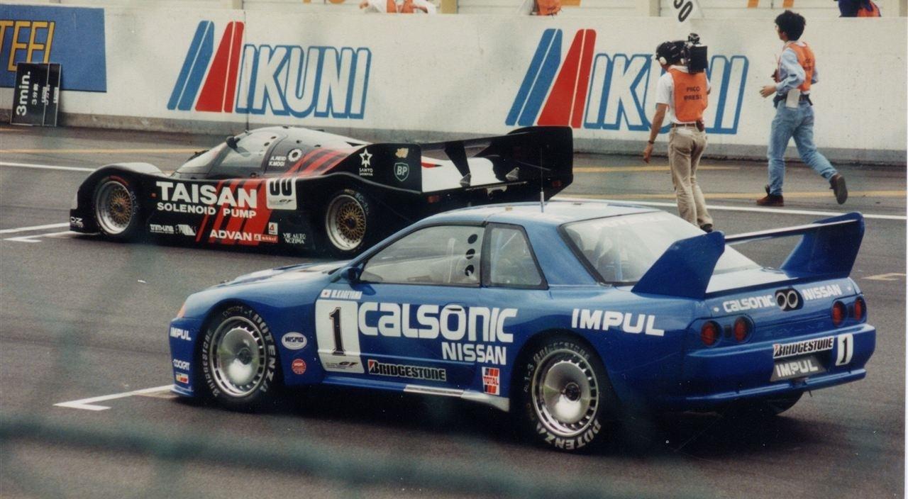 1994 JGTC Nissan vs Porsche, Fuji Speedway