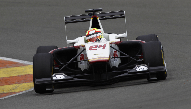 Alex Palou GP3 Test Valencia