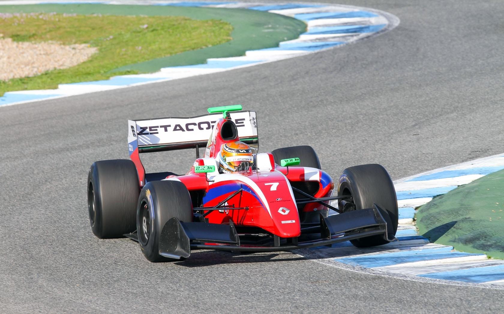 Facu Regalia FR3.5 Zeta Corse test Jerez 2015