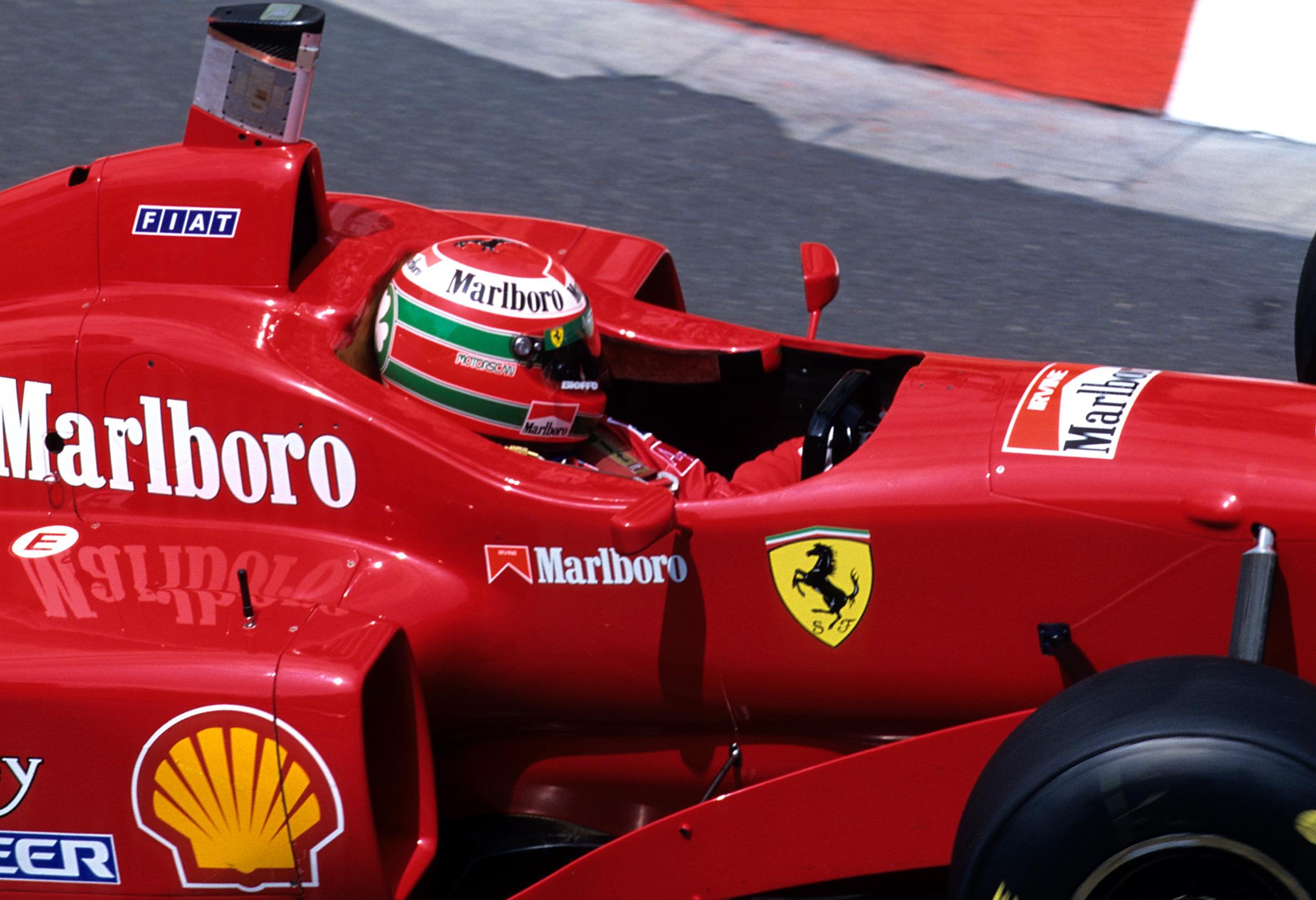 Ferrari Eddie Irvine GP Mónaco 1996