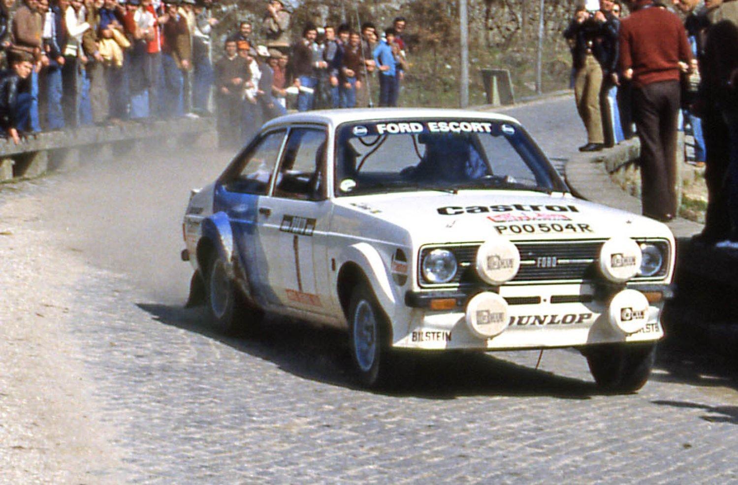 Ford Escort Bjorn Waldegard 1979