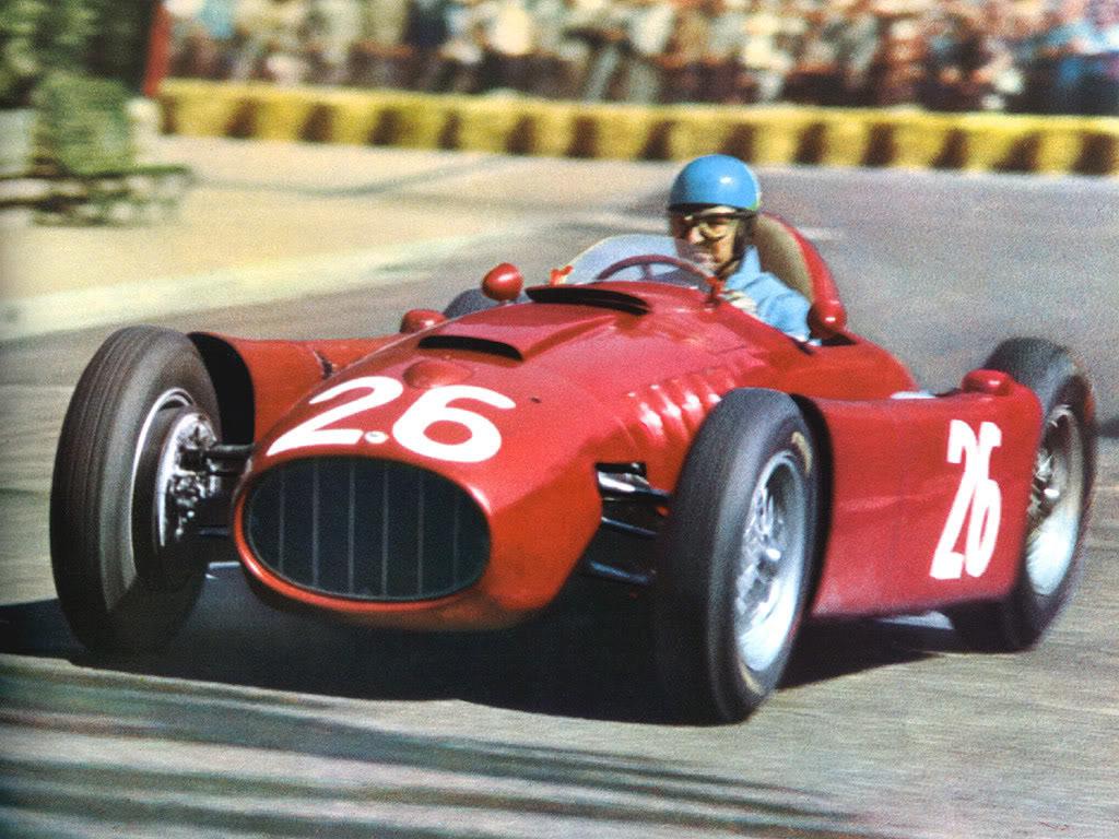 Lancia D50 Monaco 1955 Alberto Ascari