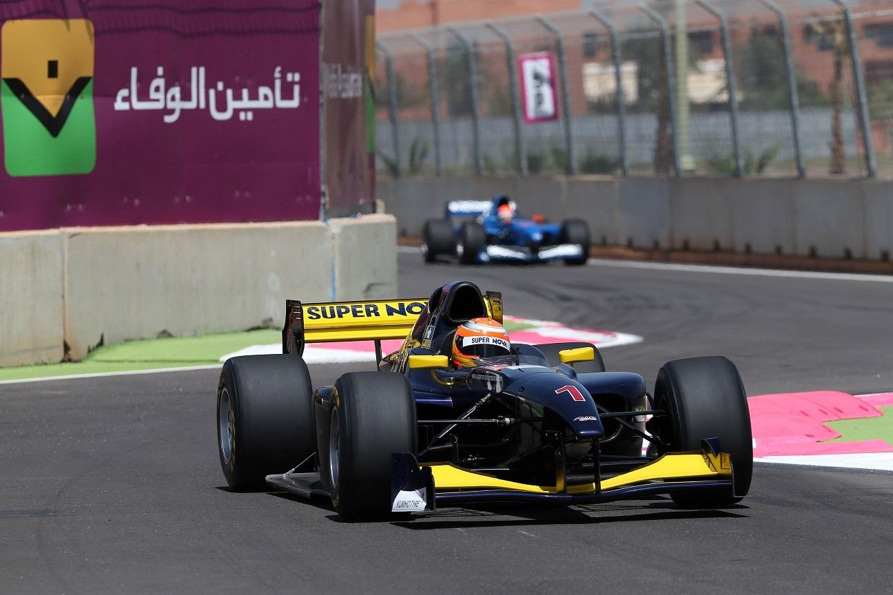 Markus Pommer Marrakech Auto GP 2014