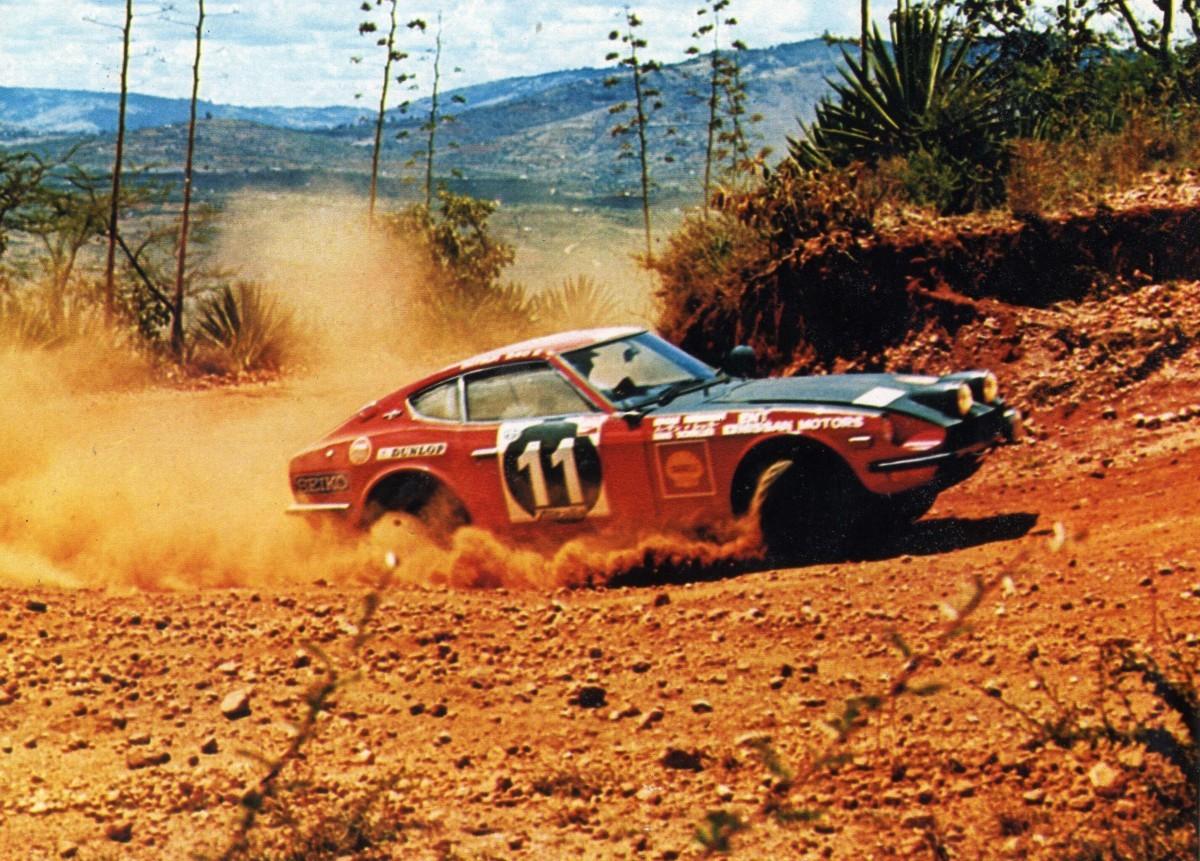 Nissan Datsun 240 Z Rally Safari