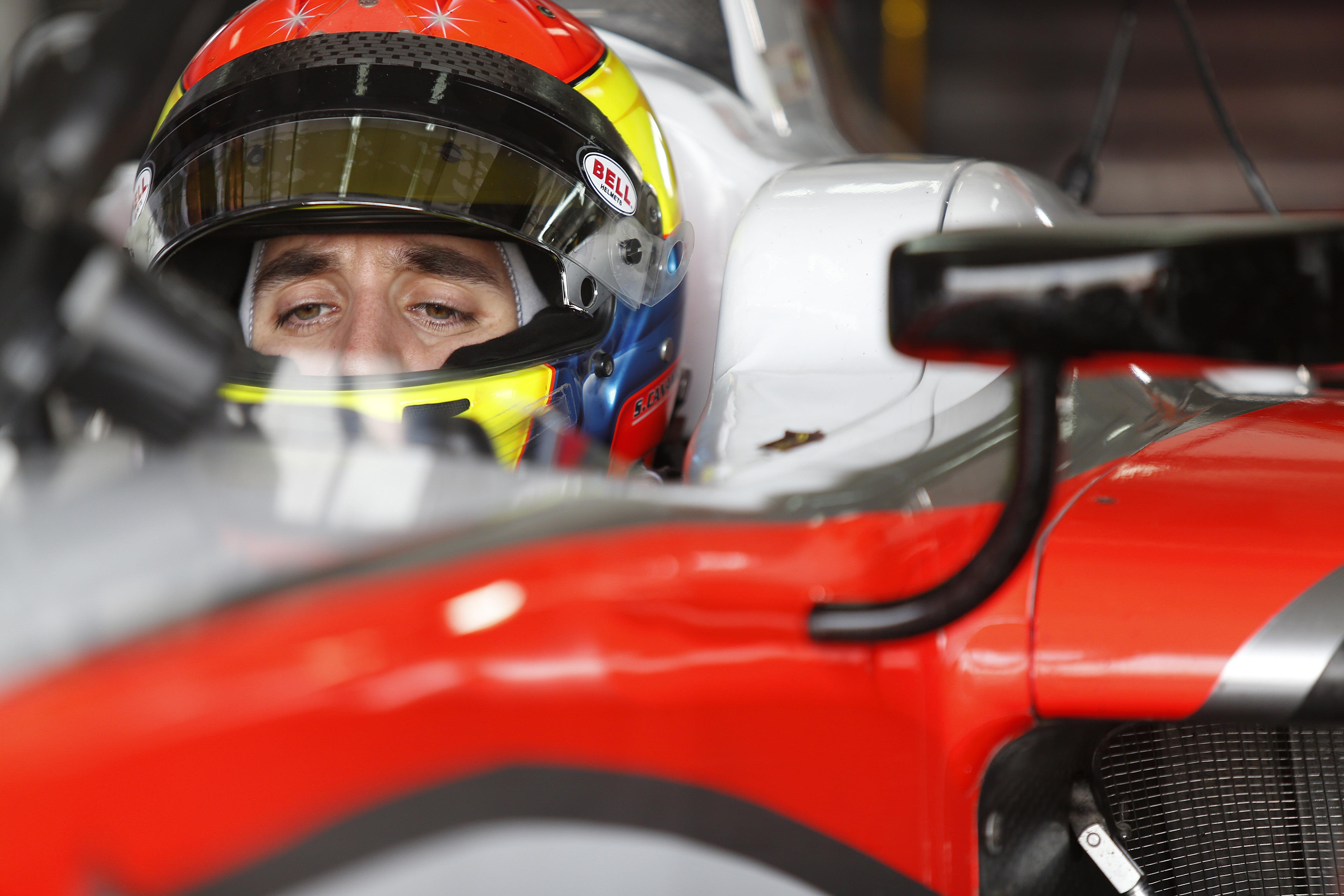 Sergio Canamasas MP Motorsport 2015 Test