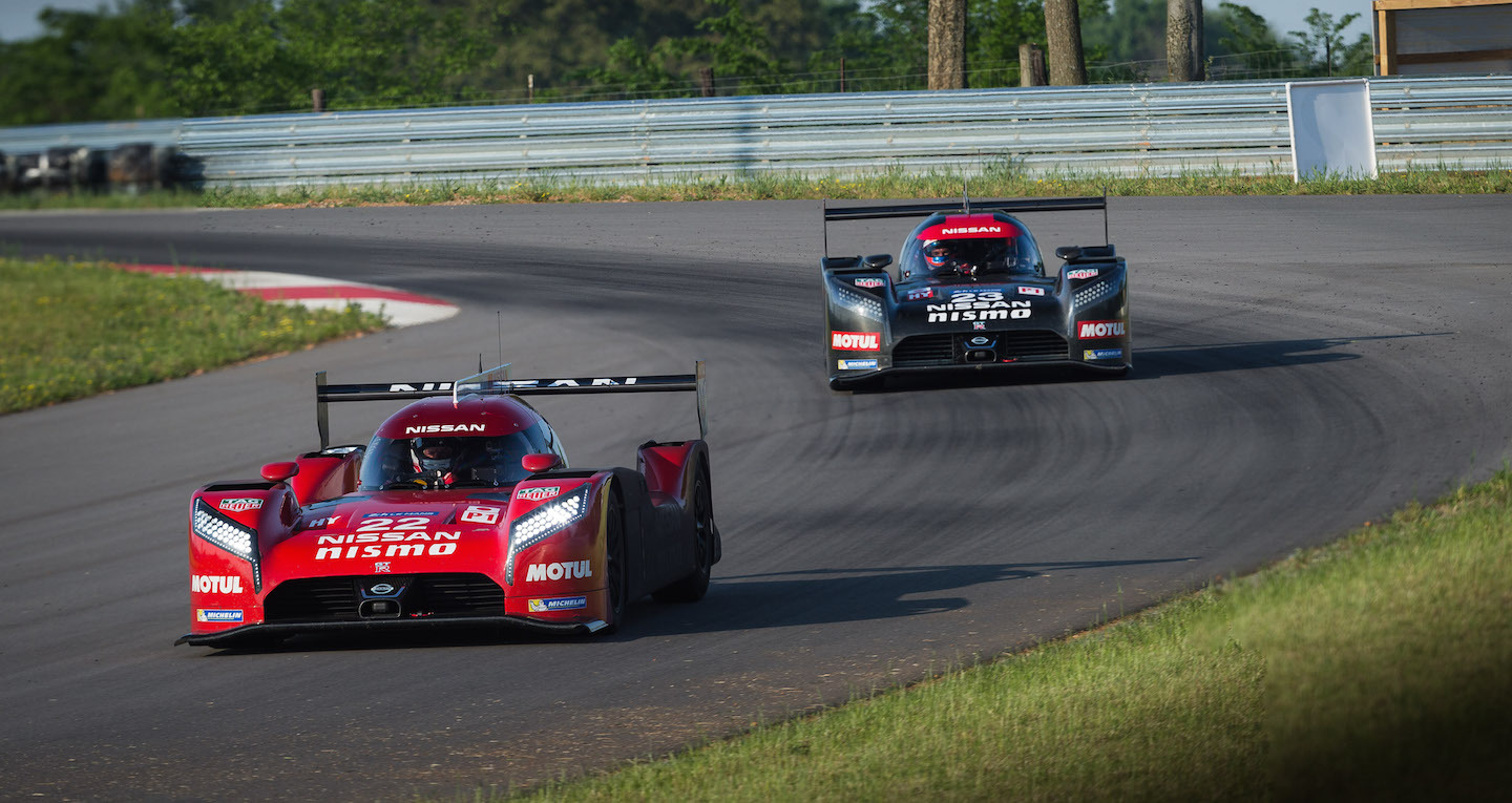 Nissan GT-RLM P1 Test -Bowling Green KY USA May 2015