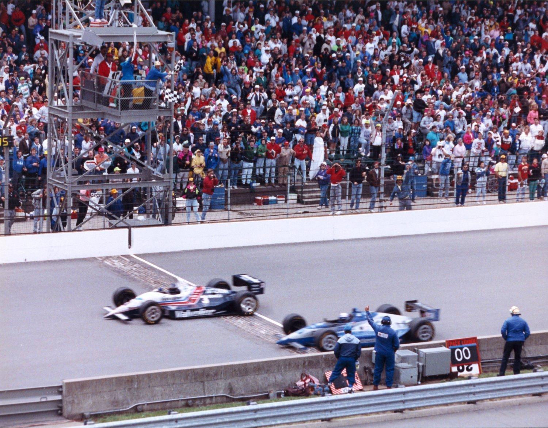 1992 Indy 500 Llegada