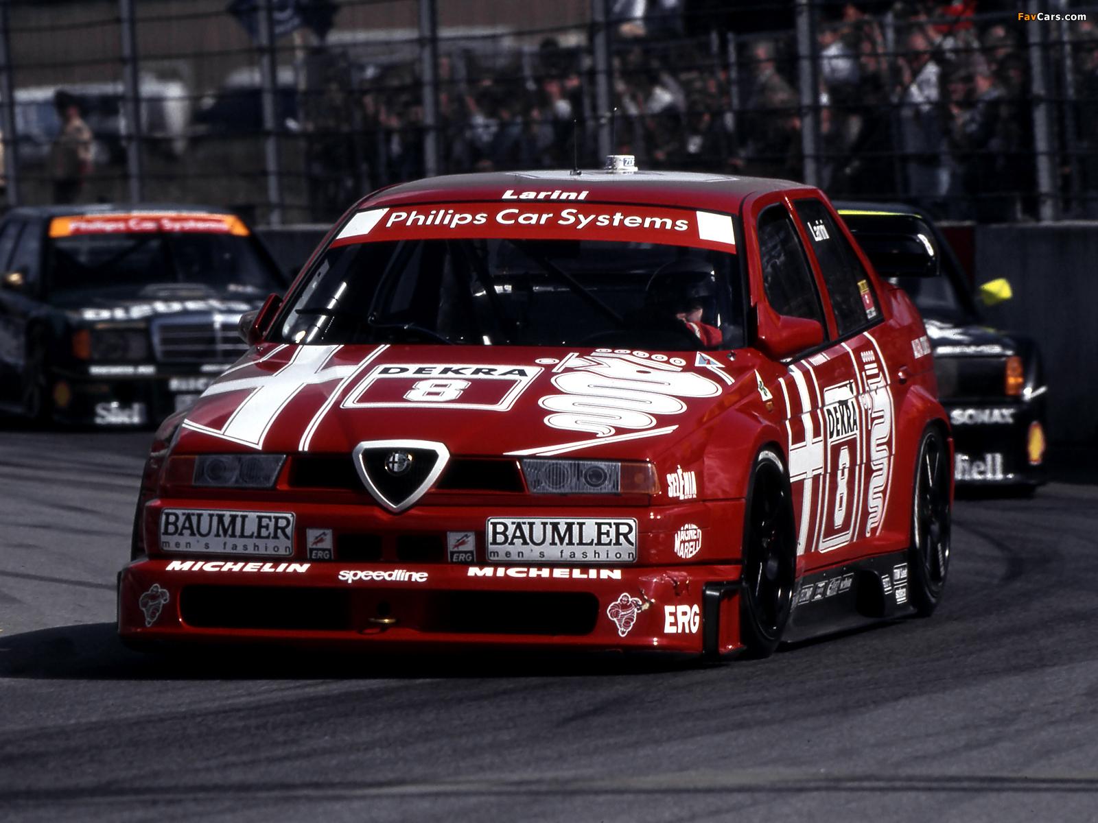 Alfa Romeo 155 Nicola Larini 1993