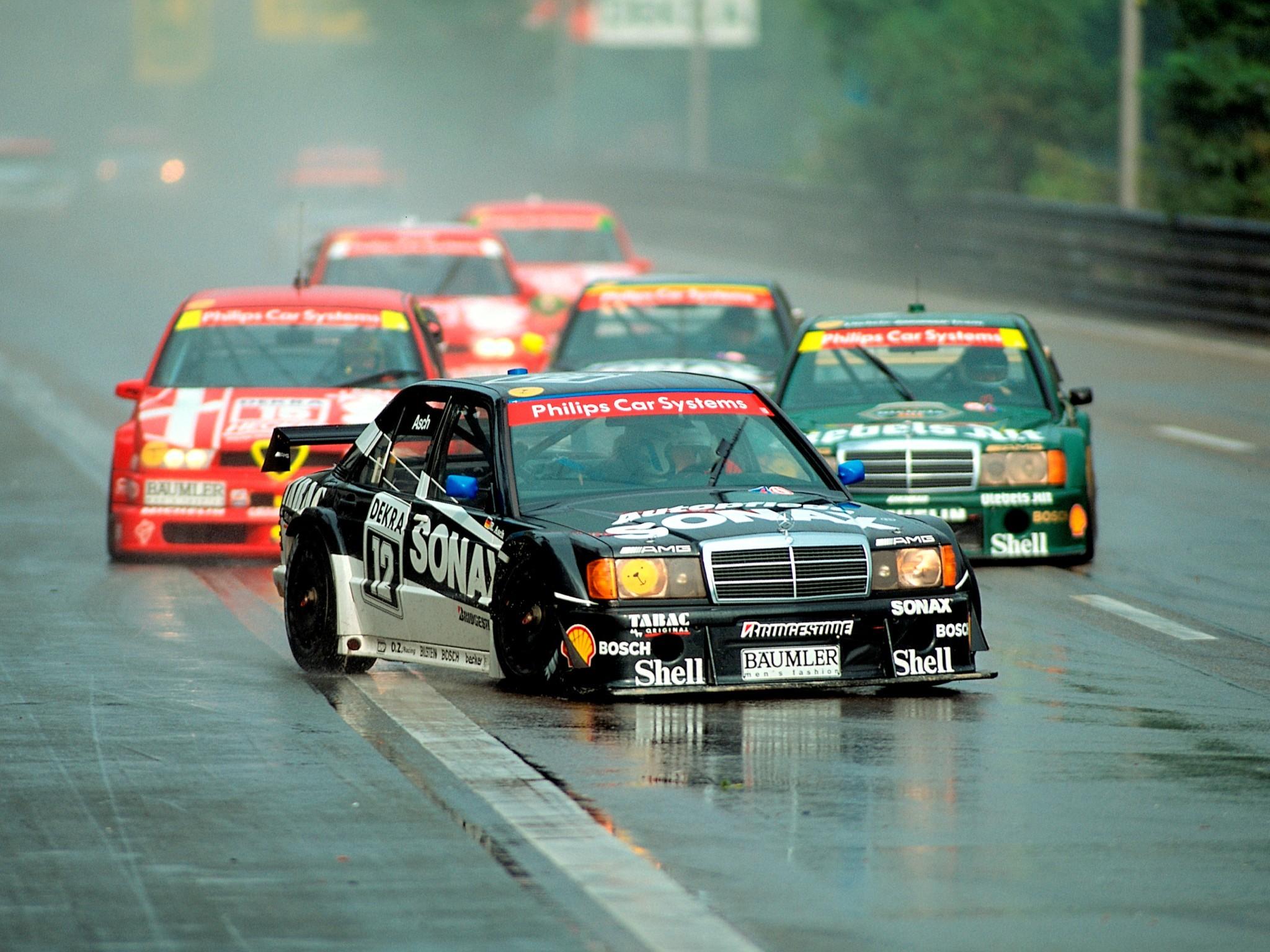 Roland Asch Mercedes DTM 1993