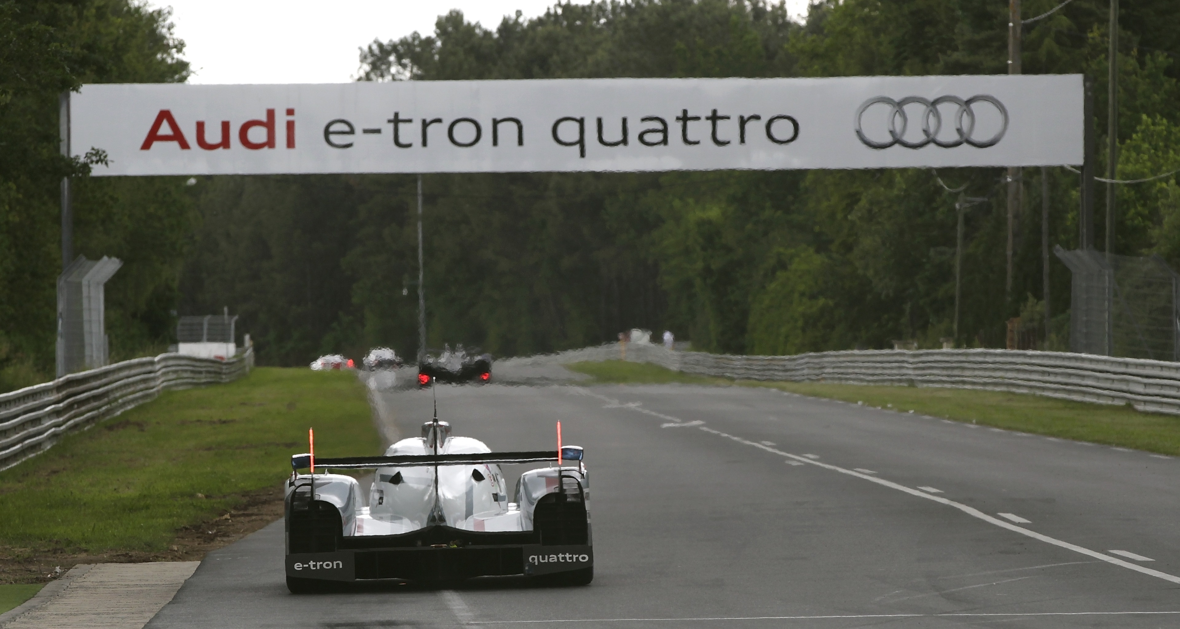 Audi R18 Le Mans 2012 Test Day
