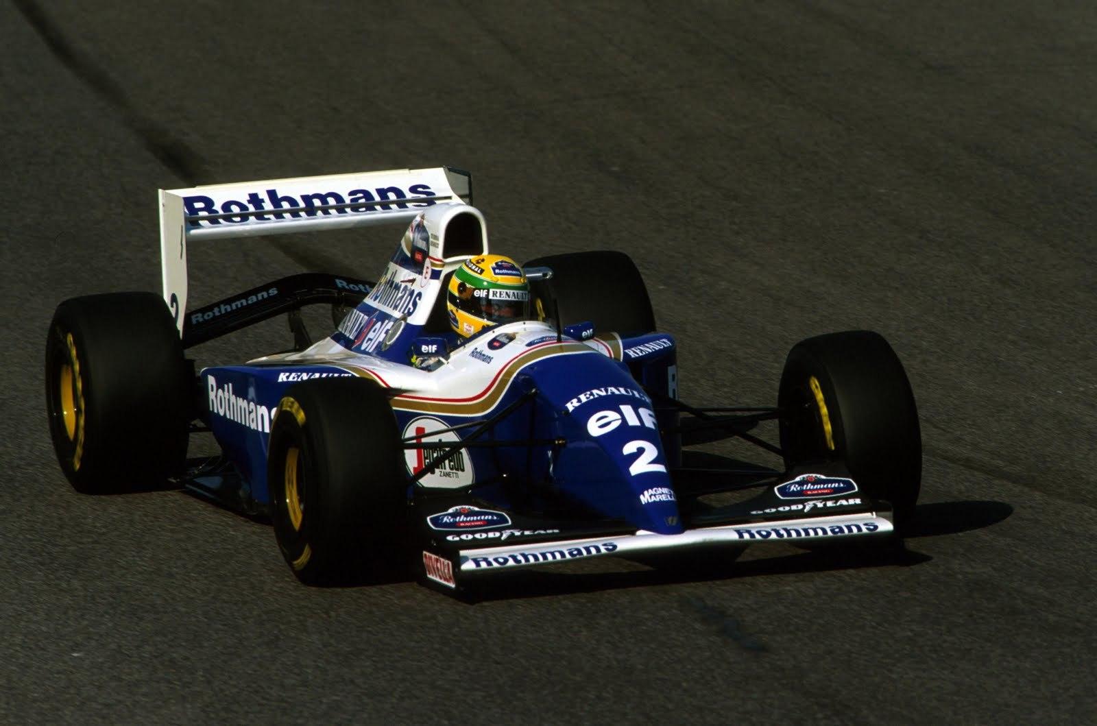 Ayrton Senna 1994 Williams FW16B