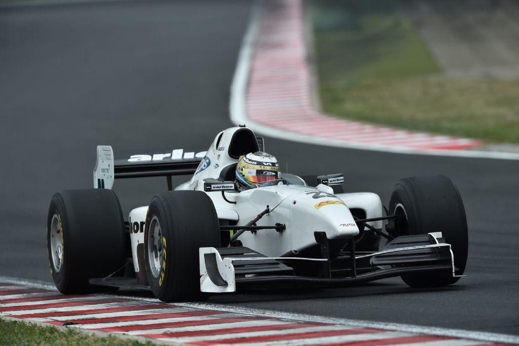 Facu Regalia Auto GP Hungaroring 2015