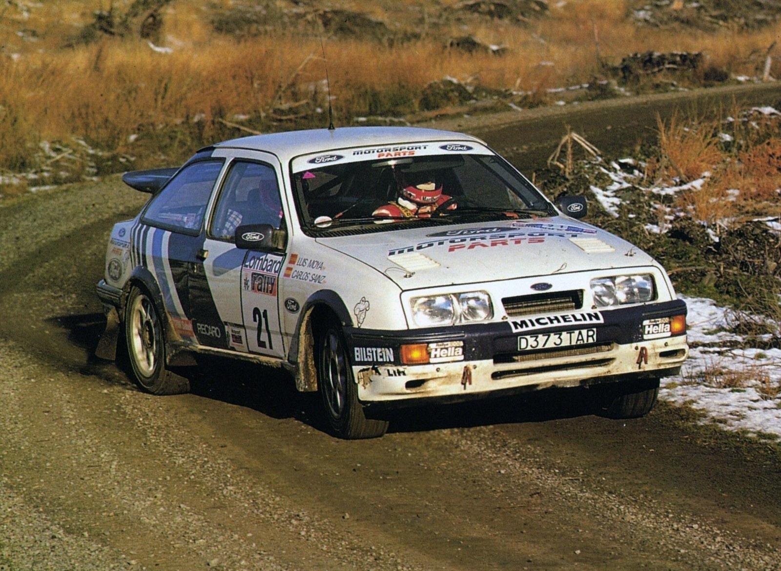 Ford Sierra RS Cosworth Carlos Sainz