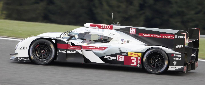 La aerodinamica del Audi R18 etron quattro