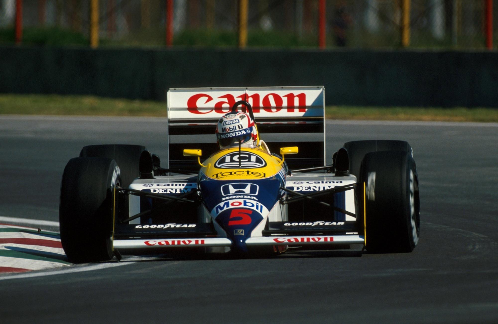 Nigel Mansell 1987 Williams FW11B