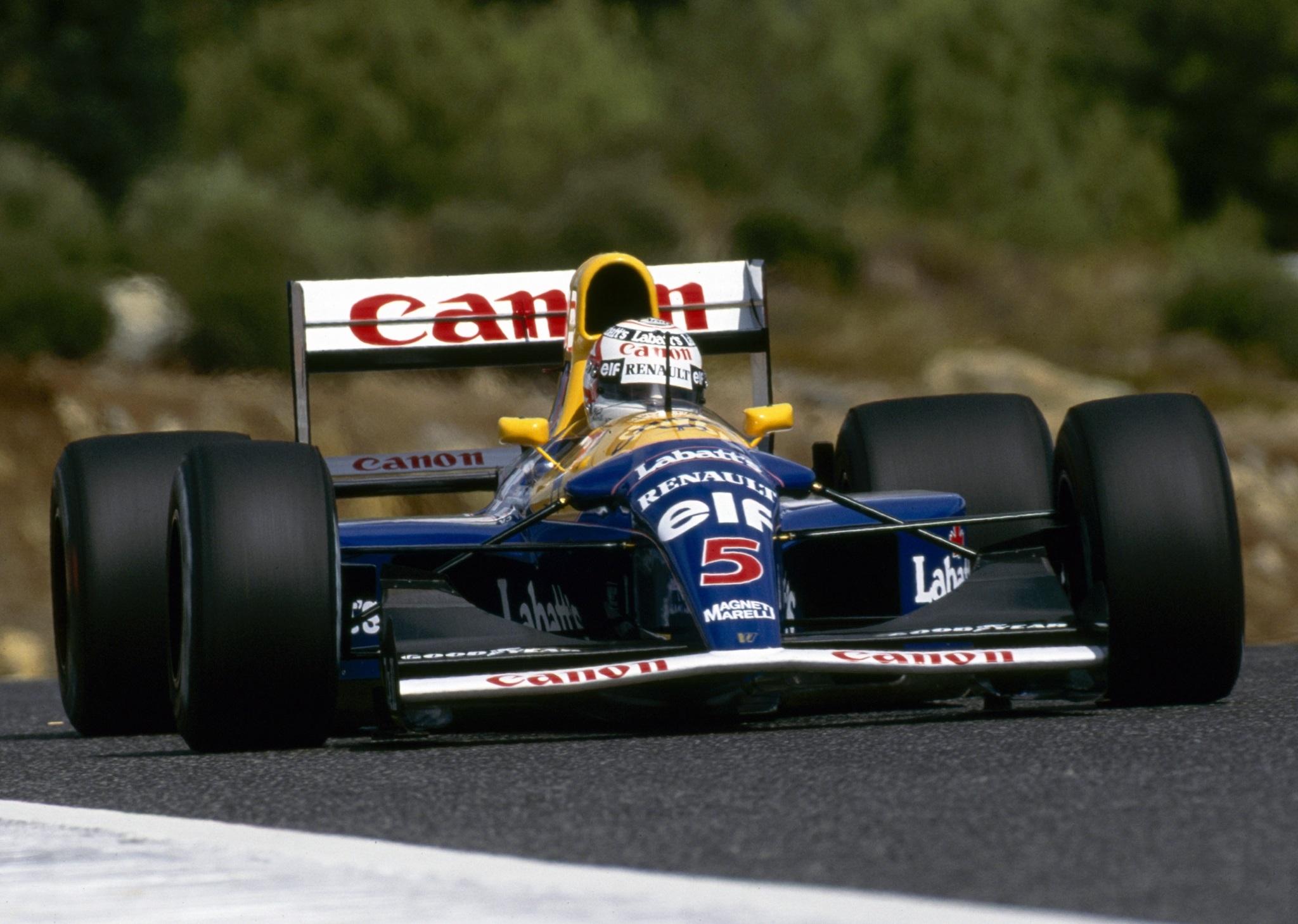 Nigel Mansell 1992 Williams FW14B