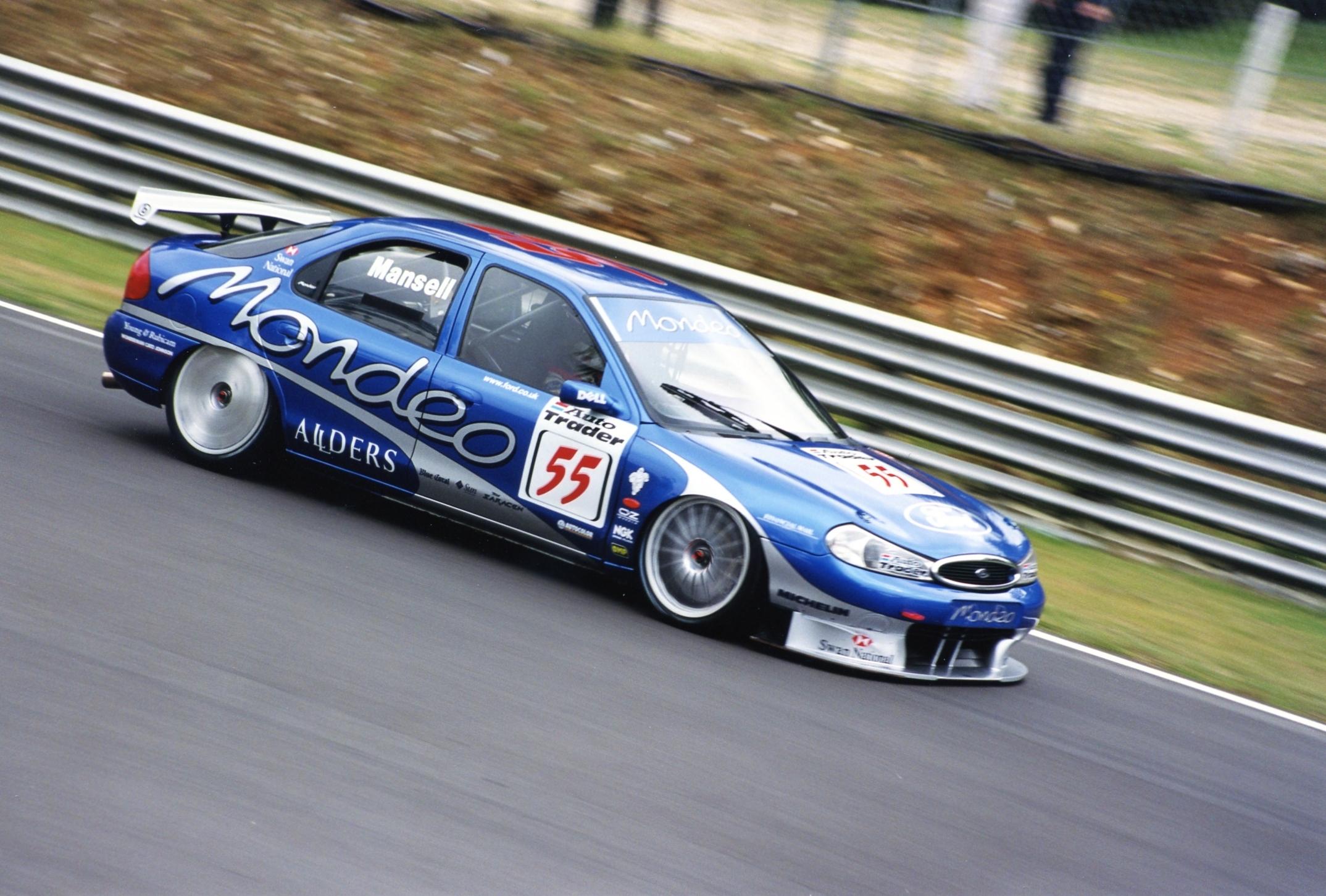 Nigel Mansell BTCC 1998