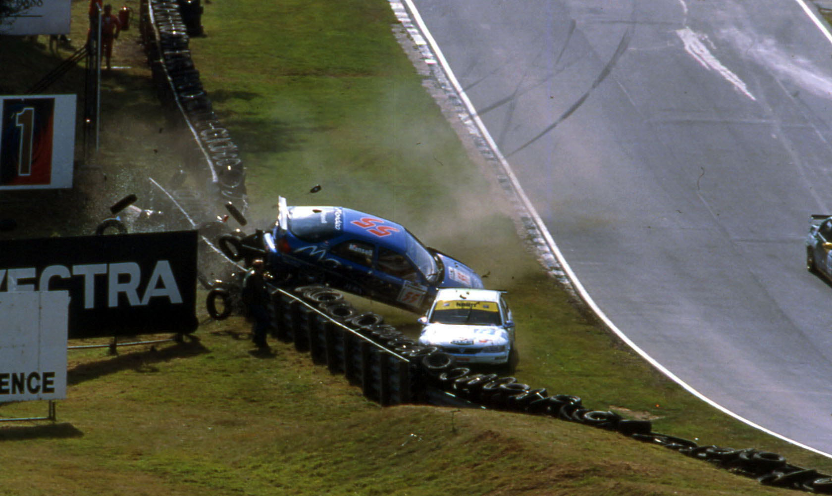 Nigel Mansell BTCC 1998 Brands Hatch