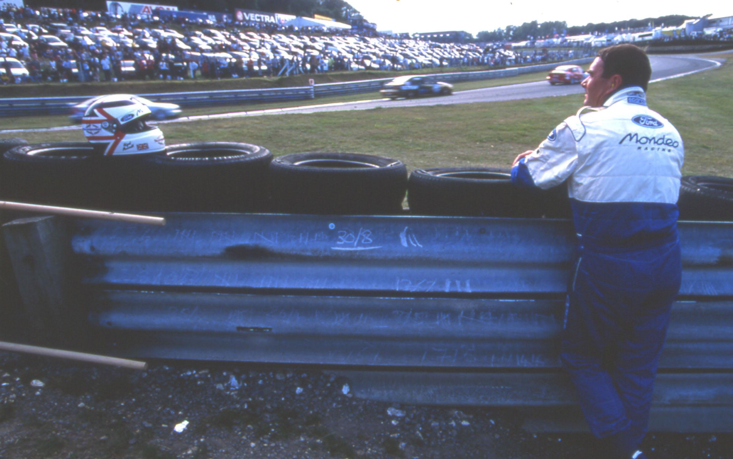 Nigel Mansell BTCC 1998 KO
