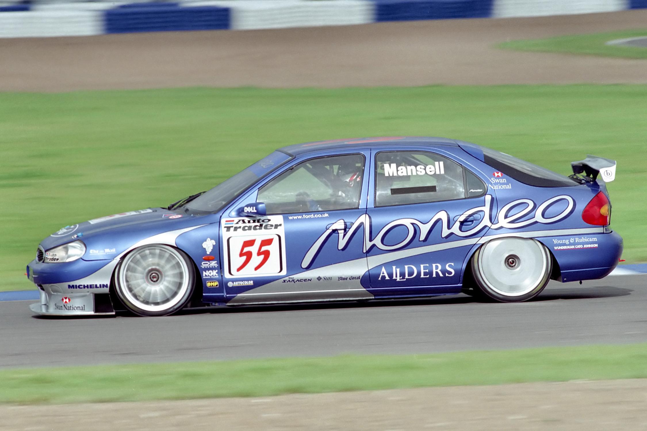 Nigel Mansell BTCC 1998 Silverstone