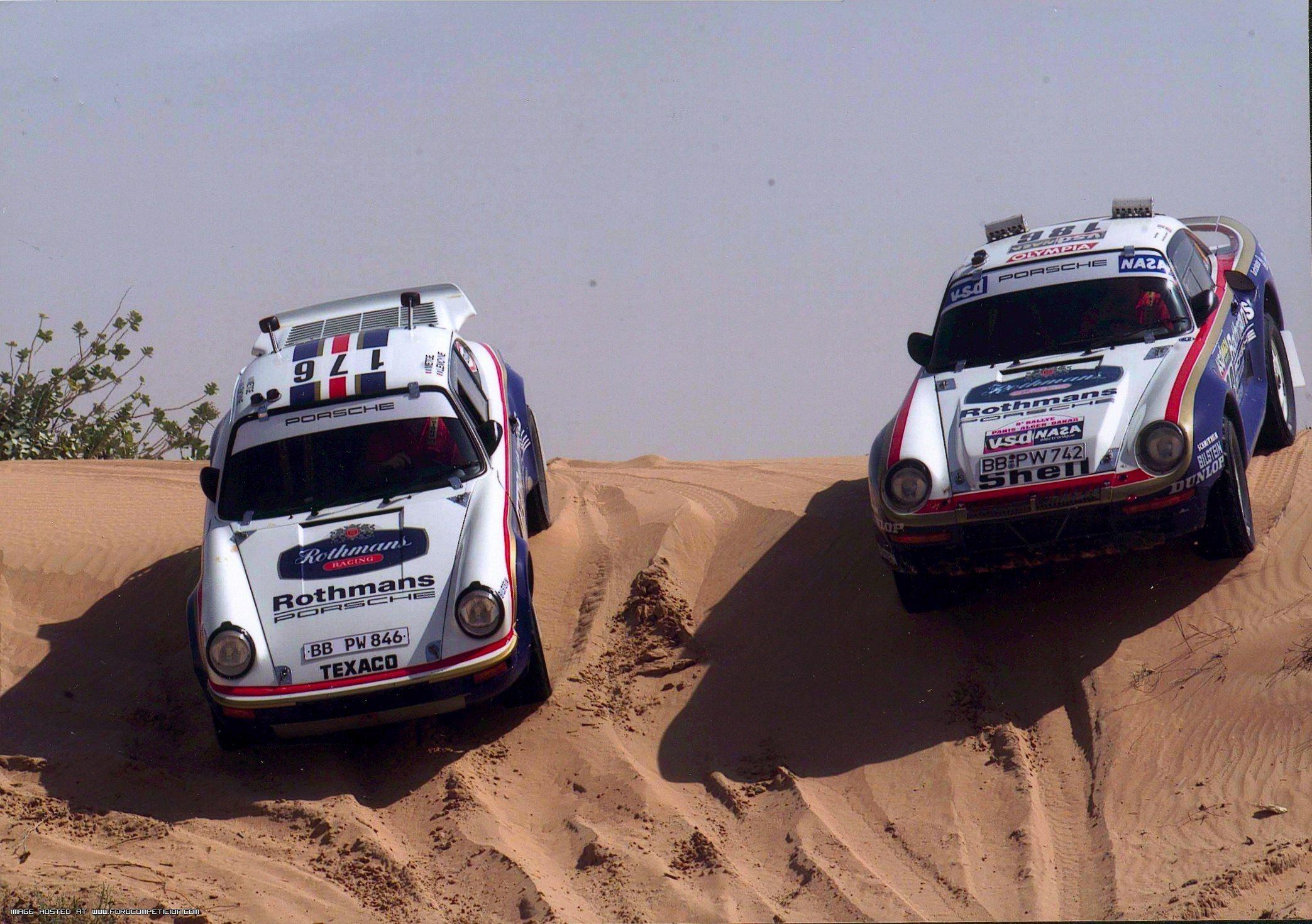 Porsche 959 Dakar
