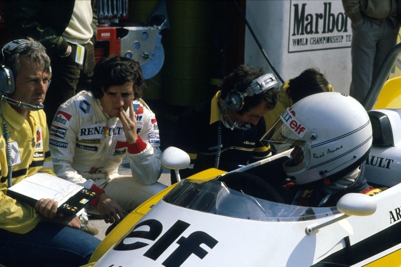 René Arnoux Boxes