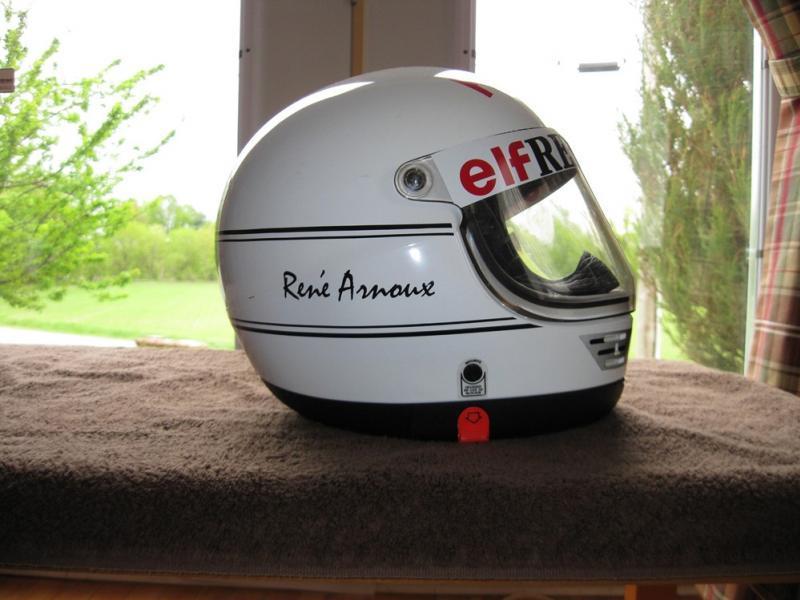 René Arnoux Casco