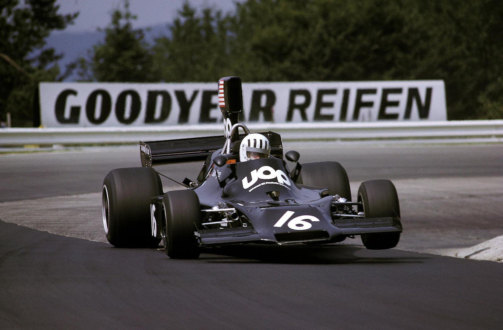 Tom Pryce Shadow Nürburgring