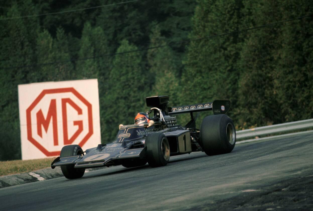 Emerson Fittipaldi 1973 GP Canadá