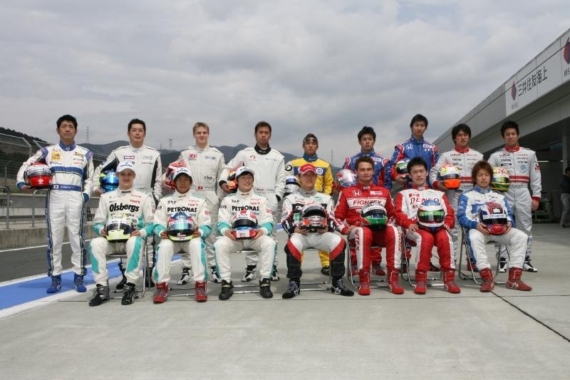 F3 Japón Pilotos 2009