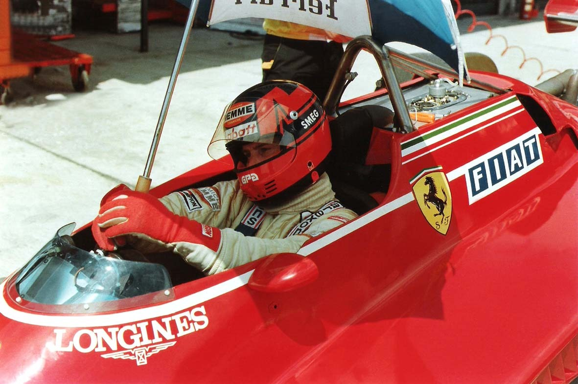 Gilles Villeneuve Brasil 1982