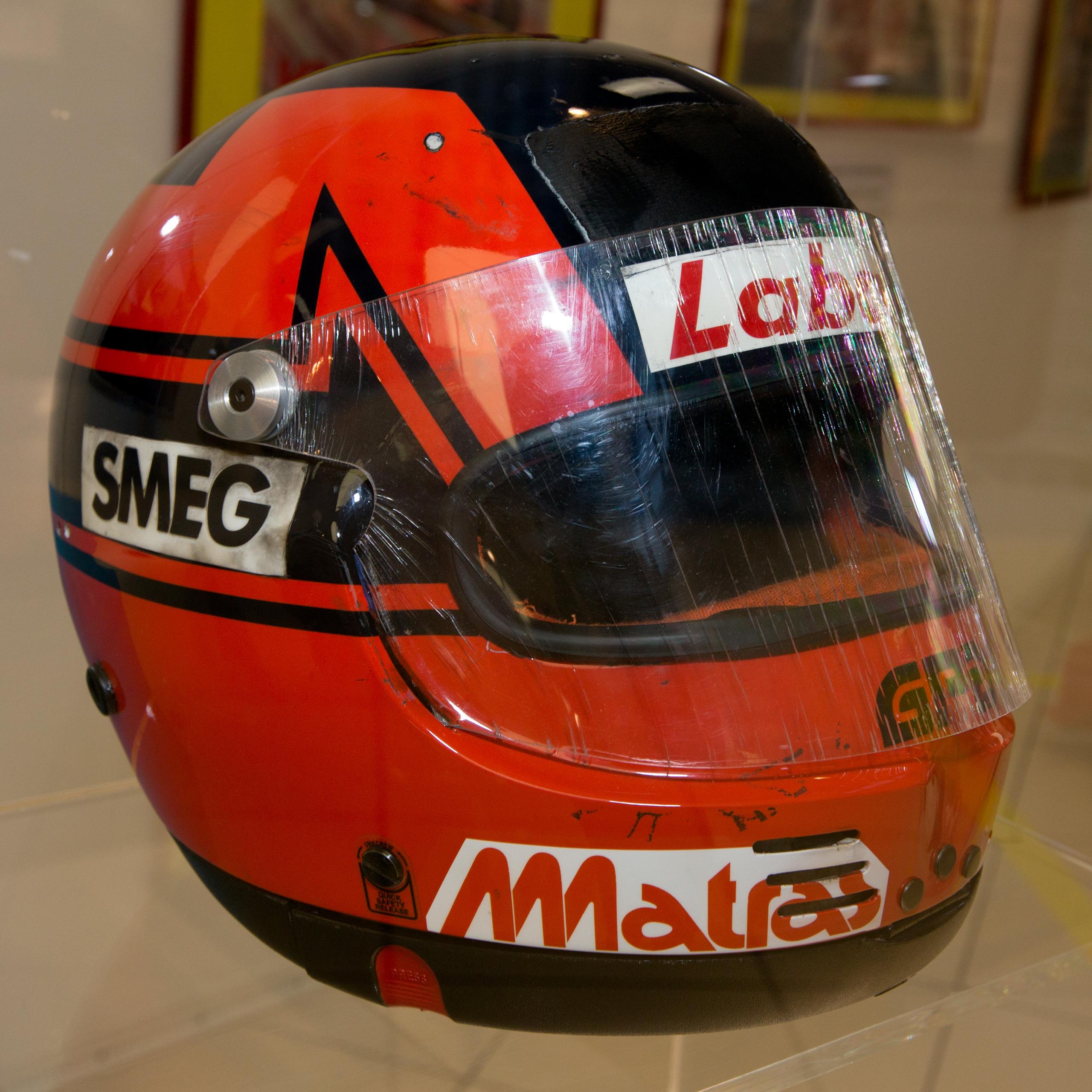 Gilles Villeneuve Helmet