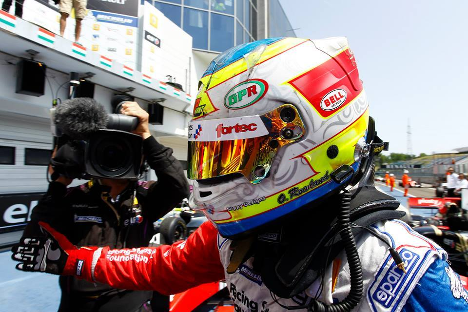 Oliver Rowland FR3.5 Hungaroring 2015