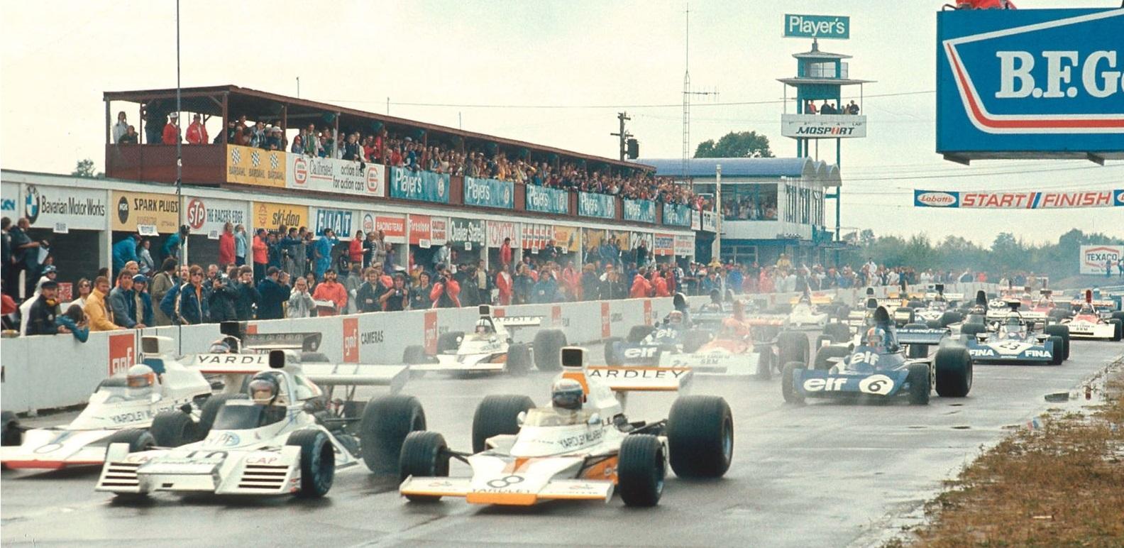 Salida GP Canada 1973