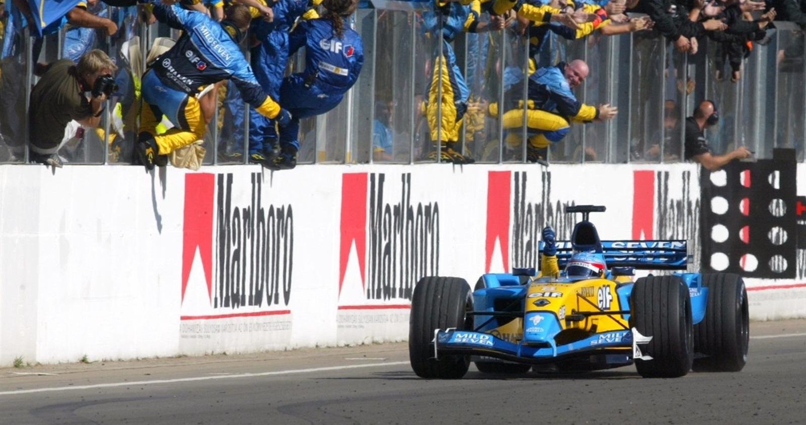 Fernando Alonso GP Hungría 2003