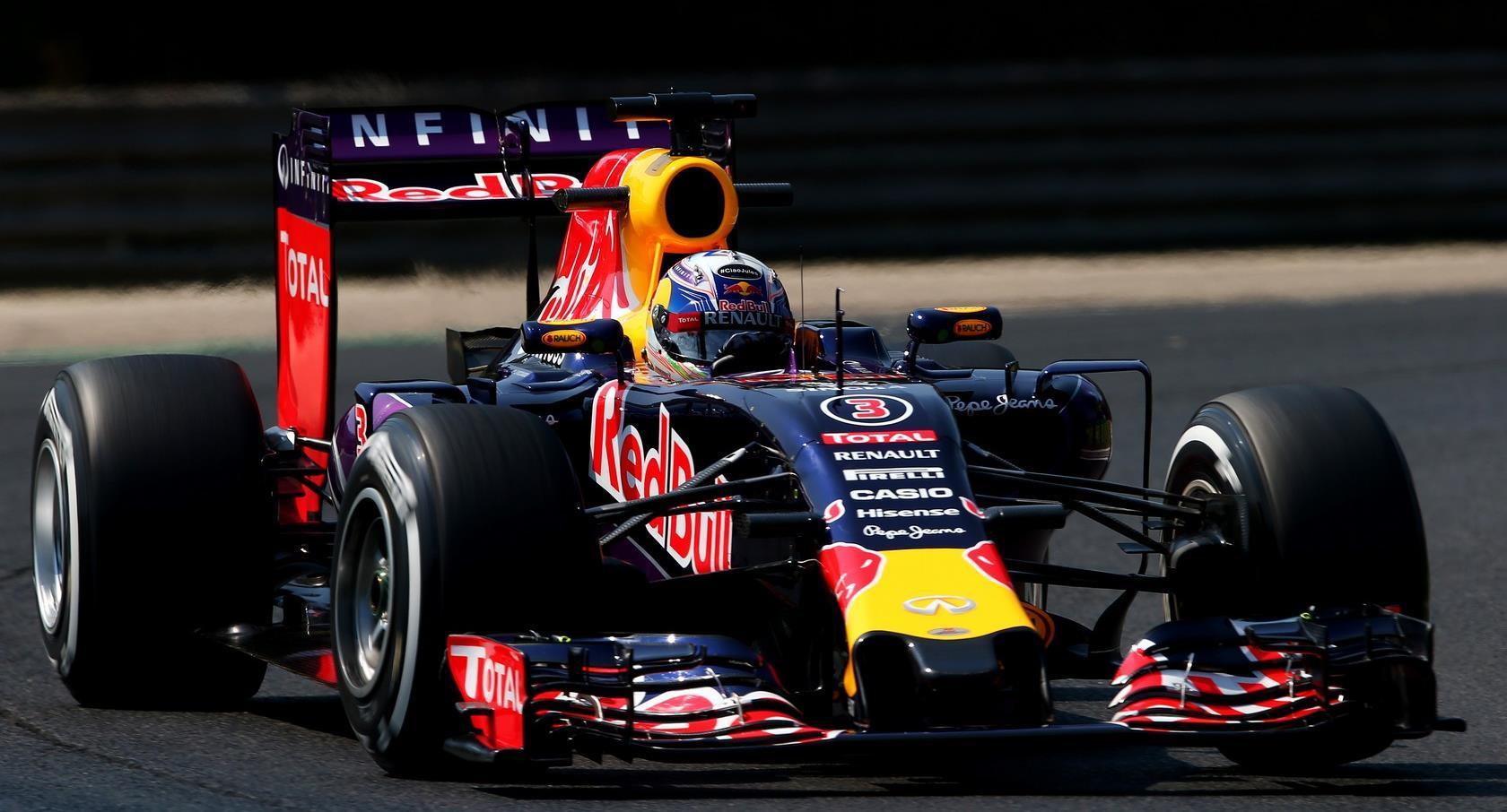 Ricciardo sorprende en Gran Premio Hungria 2015